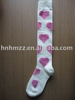 heart-shaped children's stockings