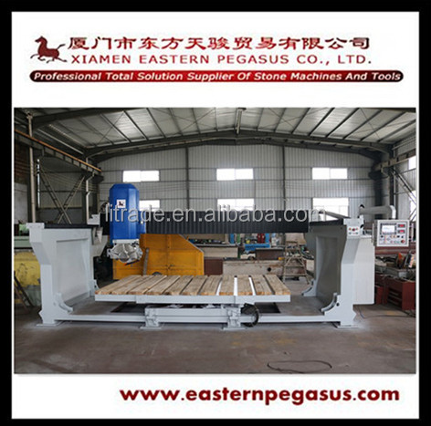 2017 TJB-500 Saw Stone Cutting Machine with Head Tilt 45 Degree