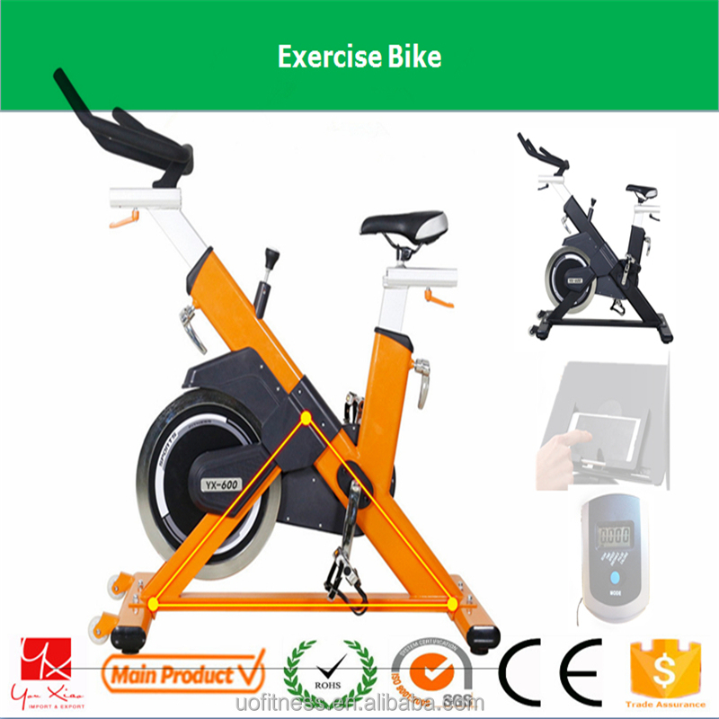 fitness gym commercial hot upright 8kg flywheel gym home gym bike
