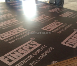 Plastic film faced plywood to middle east market with cheapest price