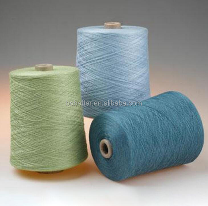 In Stock Organic Yarn China Supplier Best quality Nm 28/2 30% acrylic 70% wool Blended knitting yarn