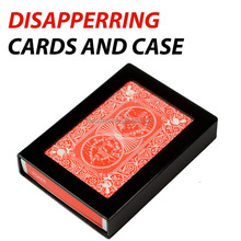 Hot Sale Disappearing Cards and Case Close Up Magic Tricks