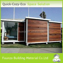 New Technology Popular Demountable Prefabricated Plastic Log Cabin