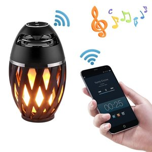 Professional Audio Holiday Light,Flame Effect Lamp Led,Music Battery powered bulb