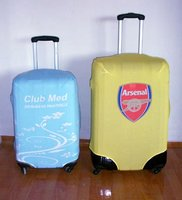 top quality fashion design supper elastic neoprene clear luggage cover by MYLE factory