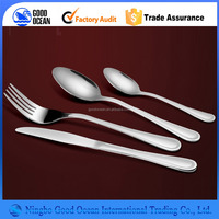 high quality decorative kinds of stainless steel spoons and forks
