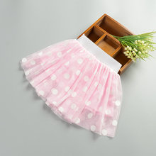 R&H Summer pink three layers Taffetta 2 years to 6 years school girl short skirt