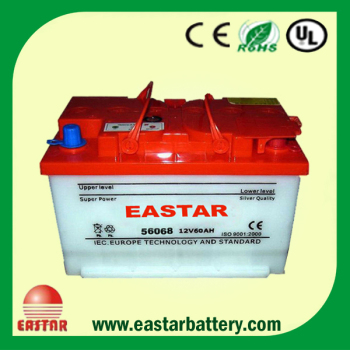 High Quality JIS/DIN Standard Sealde MF Charged Automobile Battery 12V 60AH/70AH/80AH/100AH/120AH