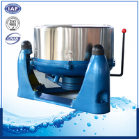 three-legs industrial garment hydro extractor machine for factory