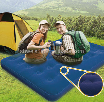 Hot-selling Inflatable Flocked Air Bed