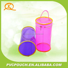 Hot sale Soft Plastic Tube Cylindrical PVC packing Bag