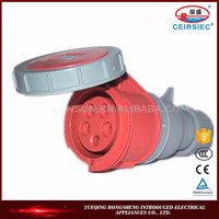Hot sale Electronic 32A 3P+N+E IP67 heavy duty electrical connectors