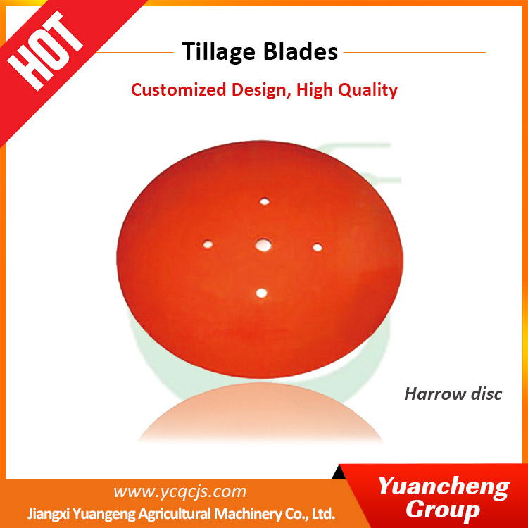 Round Plow Disc Blade 2016 Design Mini Tractor With Plow Rotavator Blade
