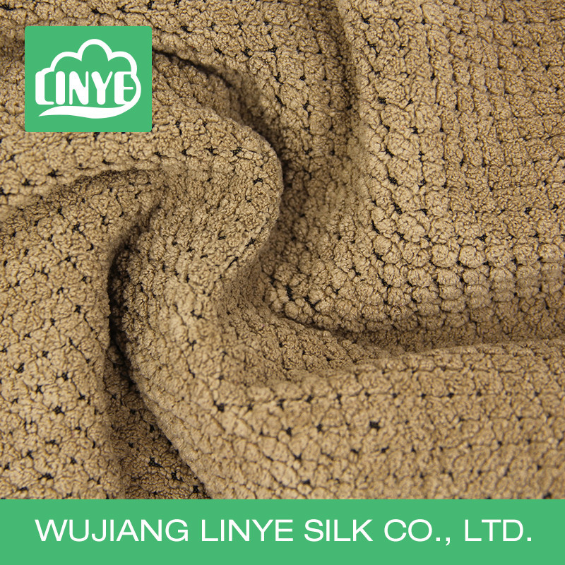 microfiber polyester corduroy fabric for toilet seat cover