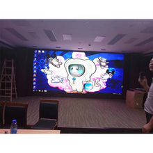 HD Electronic RGB P3.91 Indoor Rental LED Display Black SMD2121 Back Stage Background