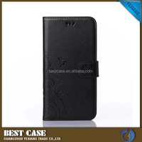 Strong Magnetic Flip Case For Lenovo A1000 PU Leather Phone Cover With Card Holder