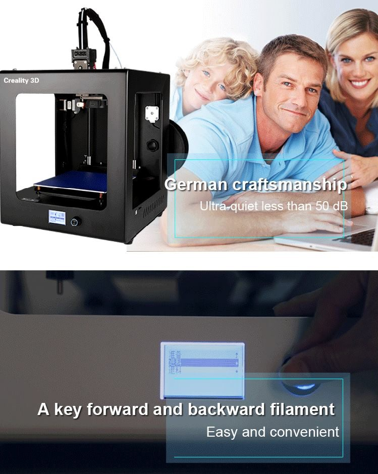 2017 CR-2020 High accurecy Industrial metal 3d printer FDM 3d printing machine from 3000SQM factory