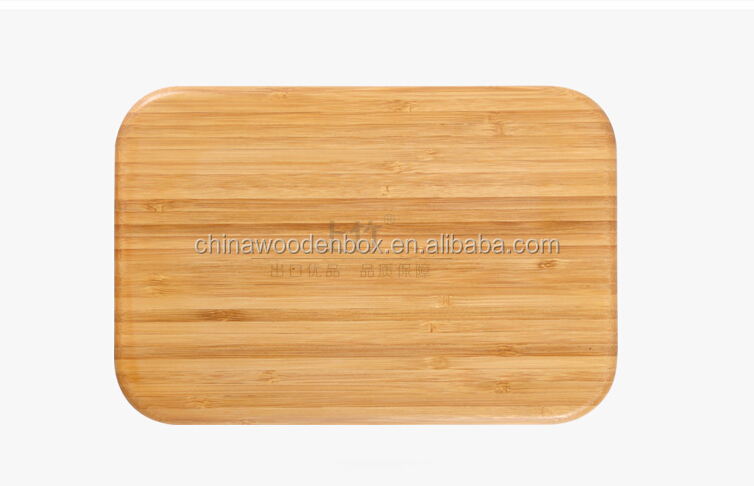 3D Bamboo Round Cutting/Chopping Board Wood Pieces With Hole