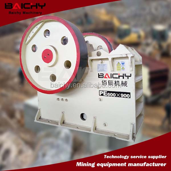 Best performance PE series stone crushing jaw crusher for sale