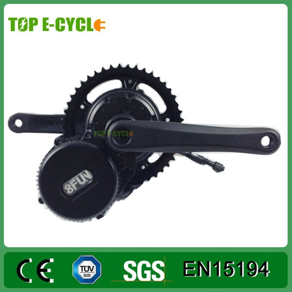 2016 bafang mid crank motor 48v 750w bbs-02 for electric bicycle