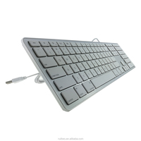 2018 New Product MYLAR Patch Multimedia Wired USB Port Keyboard