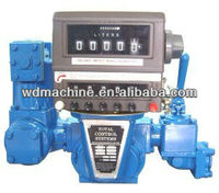 flowmeter with mechanical totalizer