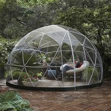 Professional steel geodesic dome tent with great price
