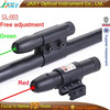 Bullet Waterproof Red and Green dot Laser Riflescope with tactical tail switch hot selling #LR-002