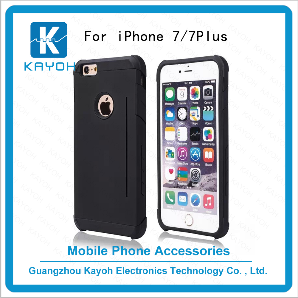 [kayoh]phone covers Protective with Prism Card Slot Holder personalised phone cases for iPhone 7