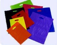 Biodegradable In-House Inventory Gravure Printed Plastic Shopping Bag