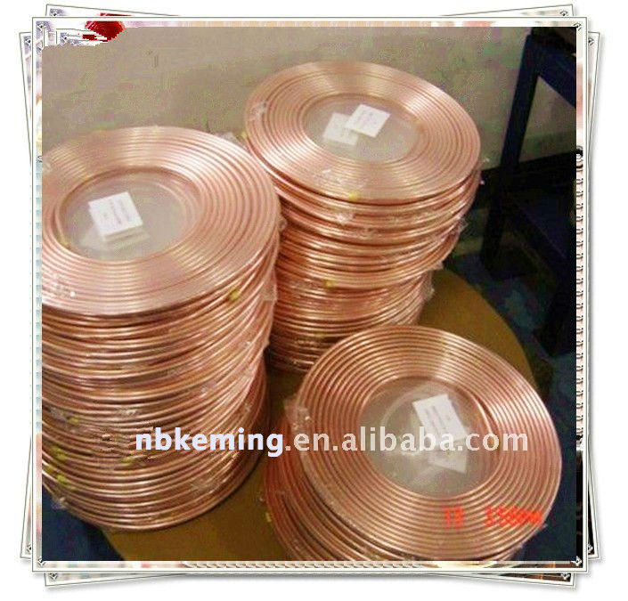 HOT-air condition pancake coil copper pipe with ROHS
