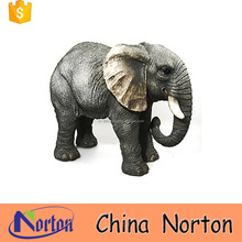 Large wild Lifelike elephant statues resin wholesale NTRS-CS128Y