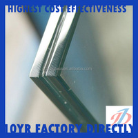 10+1.52+10 flat Laminated glass available for customization Min. 300mm x 300mm