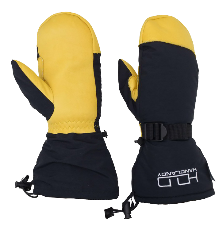 Best Sell Taslon back Breathable Genis Cowhide Custom Thinsulate <strong>C100</strong> Waterproof Winter Leather Ski Gloves Ski Mittens