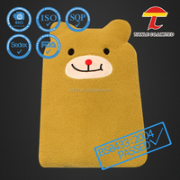 yellow color cute cat heat usage microwave silicone bag