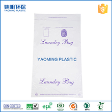 HDPE Laundry poly printed plastic mailing courier bag