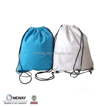2015 white drawstring backpack cotton bag,small fabric drawstring bags,packging drawstring cotton bag