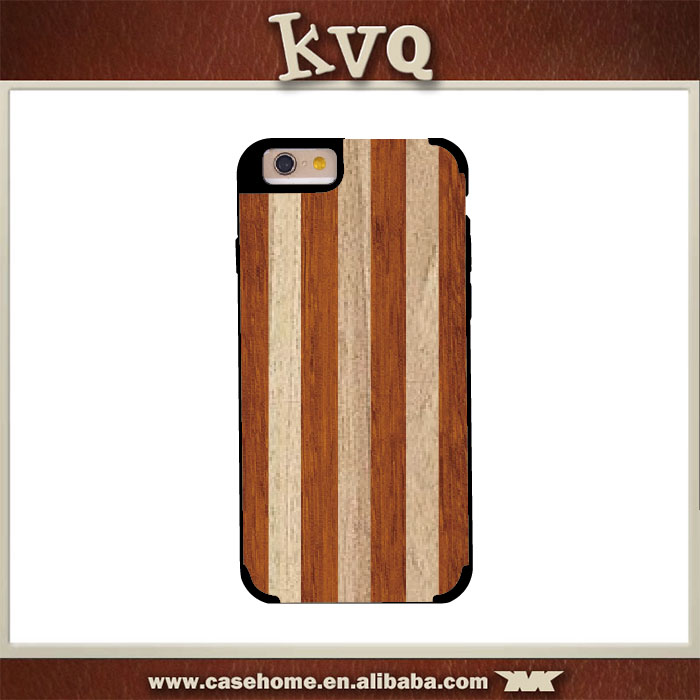 Stripe Wooden Case for iphone 5s , Back Hard Case for Meizu M2 mini