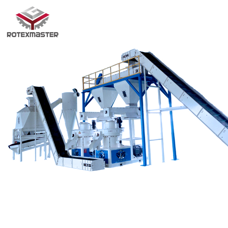 Factory supply wood pellet production line biomass fuel making machines