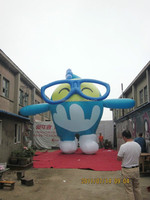 customized new style giant ocean inflatable cartoon character for kids