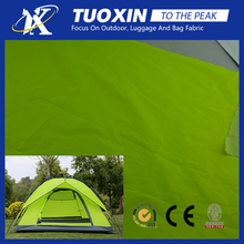 outdoor rainproof 360T fluorescent poly camping tents fabric