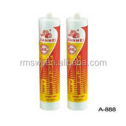 Silicone sealant for application glass & aluminum& ston