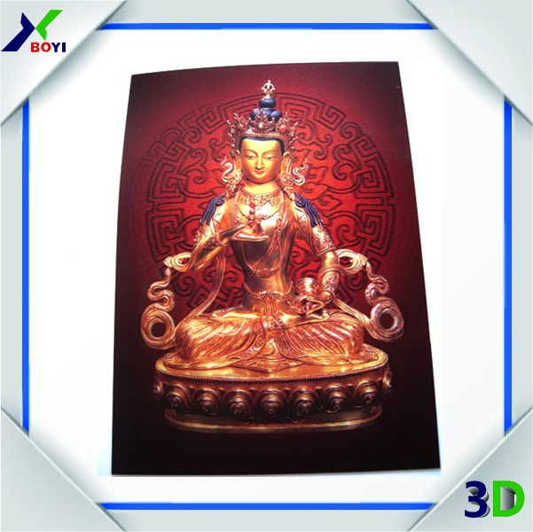 Large size of Religious 3D Lenticular Pictures printer,3D Lenticular Indian Gods Poster