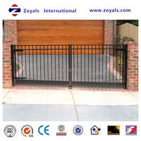 2015 high quality cheap wrought iron gates