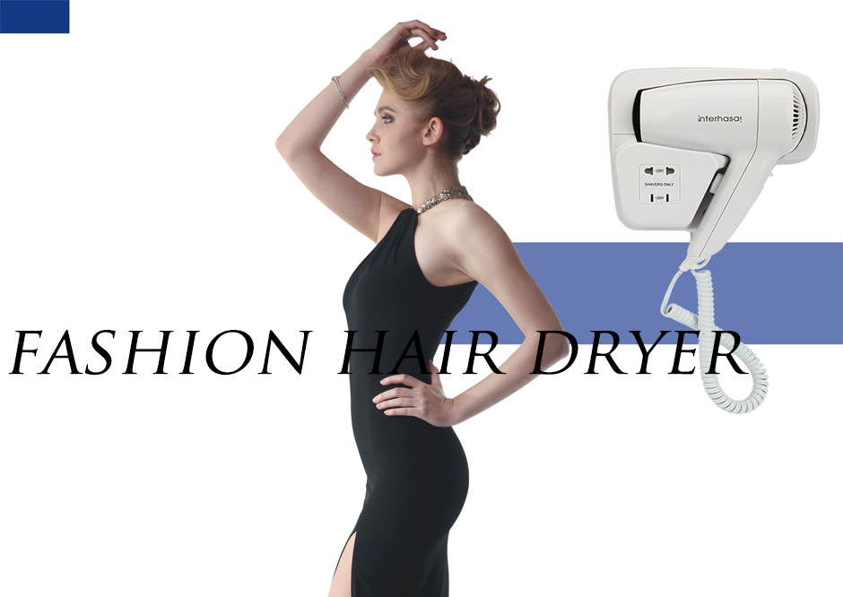 With over heating protection professional wall mounted a hair dryer wholesale for household