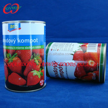 Cheap wholesale Canned food supplier, canned strawberry in light syrup
