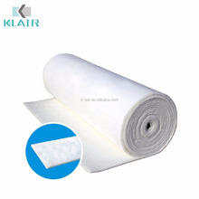 Fire retardant roof filter for paint booth, Retardant ceiling filter synthetic fiber media