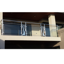 Fashion mode outdoor stainless steel glass balcony railing design system