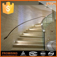 Cheap natural interior stairs railing designs