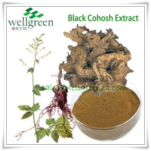 2.5%;8% Triterpene Glycosides by HPLC Black Cohosh P.E